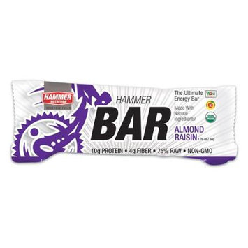 Hammer Nutrition Ultimate Energy Bar - Box of 12 (Almond Raisin)
