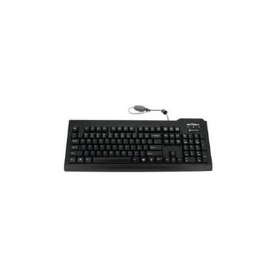 Seal Shield SILVER SEAL Medical Grade Keyboard Dishwasher Safe Antimicrobial QWERTY ISO HPD0NOABR-1610