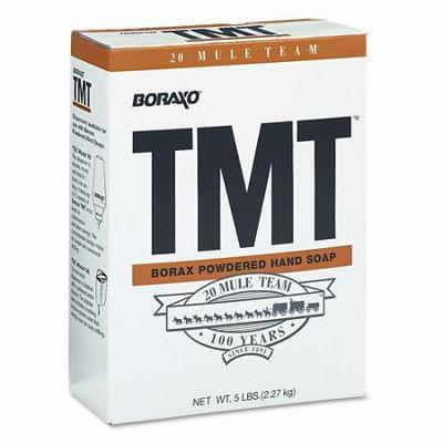 Dial 02561EA Boraxo TMT Powdered Hand Soap- Unscented Powder- 5lb Box