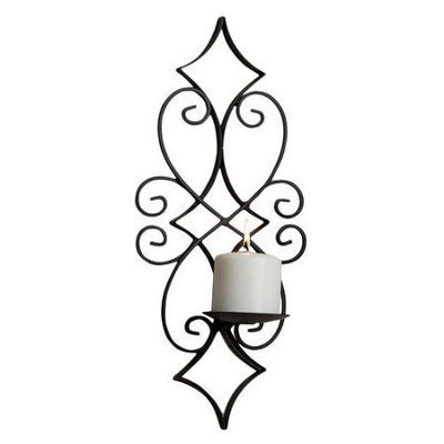 Danya B. Danya B Casablanca Iron Candle Sconce Set