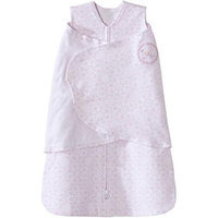Baby Girl HALO Sleepsack Lace-Print Swaddle, Pink