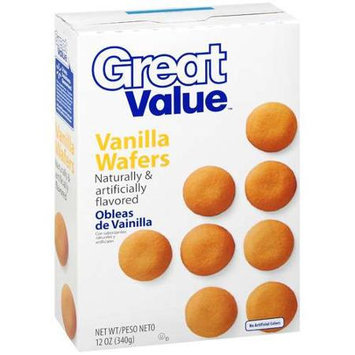 Great Value Vanilla Wafers