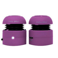 Small Dog Electronic Chill Pill Mobile Speakers for iPod/MP3 & Laptops - Pink