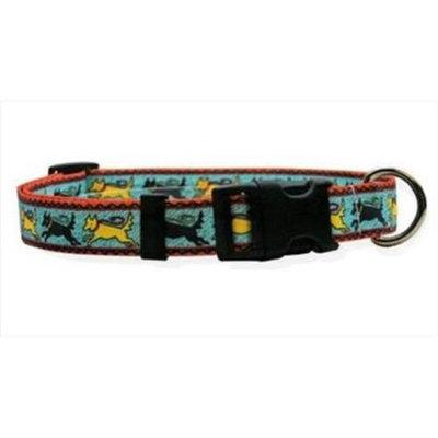 Yellow Dog Design Black & Yellow Dog Standard Collar