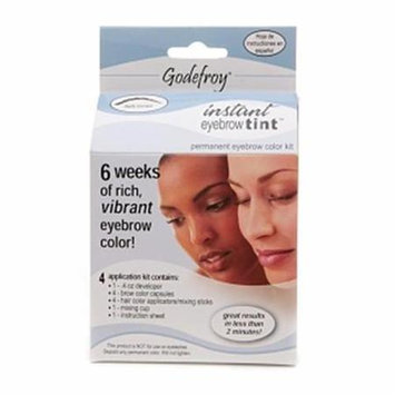 Godefroy R58 28 Day Permanent Eyebrow Color Kit - Dark Brown