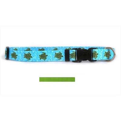 Yellow Dog Design SGR103L Solid Spring Green Standard Collar - Large