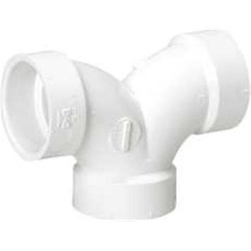 National Brand Alternative 311043 Dwv Pvc Double Ell 4 In.