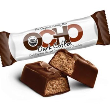 OCHO Organic Candy Bar Dark Coffee 1.4 oz