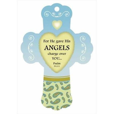 Heartfelt 115143 Air Freshener Cross Charge Over You Tranquil Woods