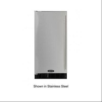 MARVEL 30-lb Capacity Freestanding/Built-in Ice Maker (Black Cabinet and Black Door) (Common: 15-in; Actual: 14.875-in) 30IMT-BB-F-L