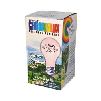 Chromalux Full Spectrum Lamps clear 50/100/150 watt