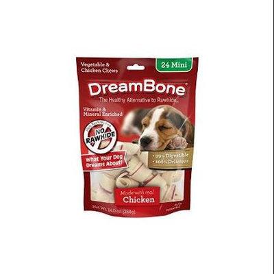 DreamBone Chicken Dog Chew, Mini, 24-count DBC-00252-CO