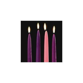 Abby Press Abbey Press 70550 10 x.50 Replacement Candles - Set of four