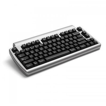 Matias Laptop Pro Keyboard - Wireless - Bluetooth - Silver - English (US) - Smartphone, Tablet, TV, Computer
