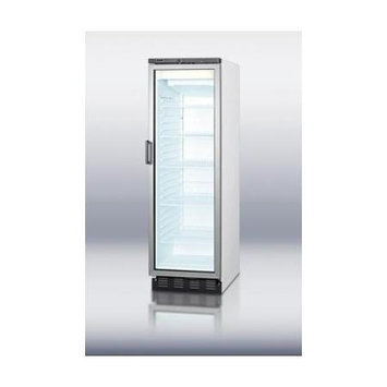 Summit Appliances SCFU1330FROST Full-size glass door beer froster for commercial use, with frost-free operation and digital thermsotat