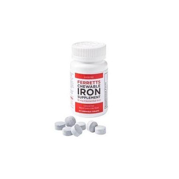 Ferretts Chewable Iron Tablets Ferretts Chewable Iron Supplement