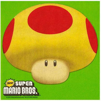 Converting Inc Party Destination 233369 Super Mario Bros. Napkins