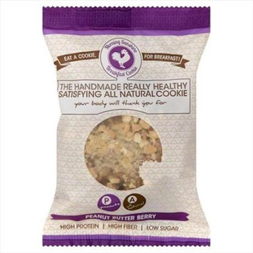 Morning Sunshine Cookie 2.75 oz. Breakfast Cookie Peanut Butter Berry Case Of 10