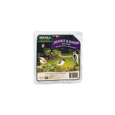 Birdola 11.5 Oz Peanut Raisin Bird Seed Suet