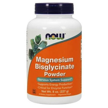 NOW Foods Magnesium Biglycinate Powder 8 oz - Vegan