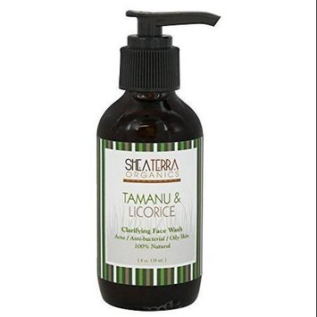 Shea Terra Organics - Clarifying Face Wash Tamanu & Licorice - 4 oz.