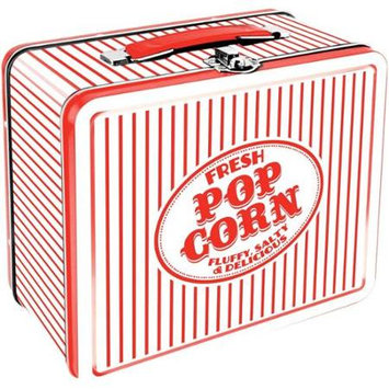 Aquarius Lunch Box - Vintage - Popcorn Tin Case Licensed Gifts Toys 48100