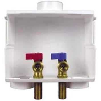 Ips Corporation 531047 Washing Machine Box Dual With Valves .5 In. Pex