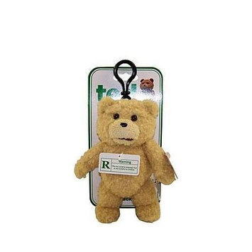 Commonwealth Ted Talking Backpack Clip Plush Teddy Bear
