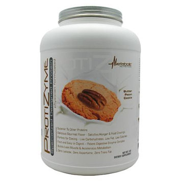 Metabolic Nutrition Protizyme Butter Pecan Cookie - 5 lb