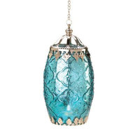 Koolekoo Home Locomotion 10015193 Aquamarine Filigree Lantern