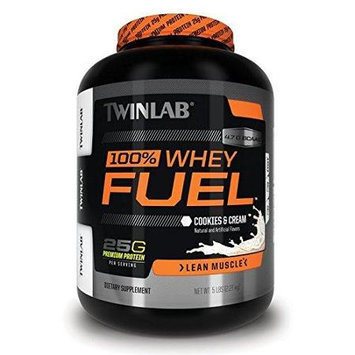 100% Whey Fuel - Cookies & Cream Twinlab, Inc 5 lbs Powder