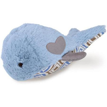 Worldwise Loved Ones Durable Whale W/Treat Pocket Dog Toy-Blue