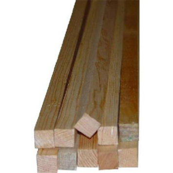 General Purpose Moulding: Alexandria Moulding Building Materials LWM 239 11/16 in. x 11/16 in. x 96 in. Pine S4S Moulding green 00030-20096C1