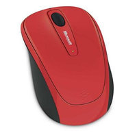 Microsoft Corp. Microsoft Wireless Mobile Mouse 3500, Flame Red Gloss