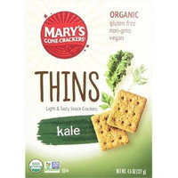 Mary's Gone Crackers THINS, OG2, KALE, (Pack of 6)