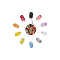 Urban Factory Red 800dpi Optical USB Crazy Mouse