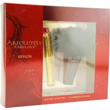 Absolutely Fabulous by Revlon - Eau de Toilette Roll-on 0.25 oz, Eau de Toilette Spray 0.5 oz for Women