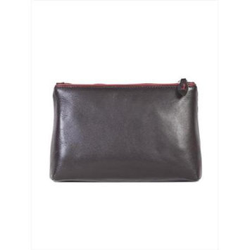 Scully H639-04-25 Hidesign By Scully Female Chocolate Cosmetic Bag