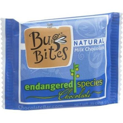 Endangered Species Chocolate Bug Bites - Milk Chocolate - 48 Percent Cocoa - .35 oz, (Pack of 64)