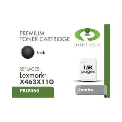 Printlogic Inc Printlogic Printlogic E460x11a Black Cartridge