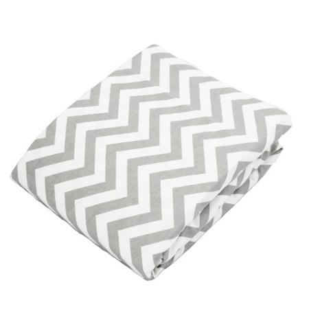 Babies R Us Kushies Playpen Fitted Sheet - Grey Chevron