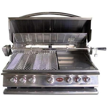 Lloyds Material Supply Co Cal Flame Built-In Stainless Steel Gas Grill