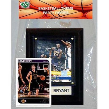 Candicollectables Candlcollectables 46LBLAKERS NBA LA Lakers Party Favor With 4 x 6 Plaque