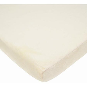 American Baby Company ABC Heavenly Soft Chenille Fitted Pack-N-Play Sheet - Ecru