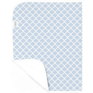 Babies R Us Kushies Waterproof Change Pad - Blue Lattice