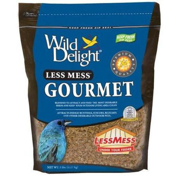 D & D Commodities Wild Delight Less Mess Gourmet Bird Food - 5 lb.