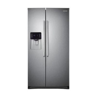 Samsung 25 Cu Ft Capacity Stainless Steel Side By Side Refrigerator