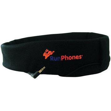 RunPhones Classic Headphones Headband, Black, S