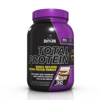 Cutler Nutrition Total Protein Powder, S'mores, 2.3 Pound