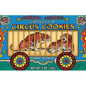 Happy Snacks Circus Cookies Vanilla 2-Ounce (Pack of 12)